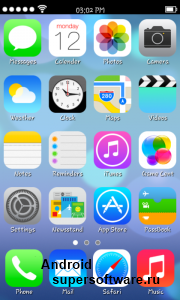 Real iOS 7 Launcher