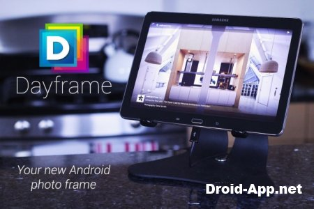 Dayframe slideshow photo frame